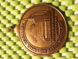 Medaille - Medaille - Medaille - Grenslandtocht 20e - WKZ Zevenaar 1992 - Nederland