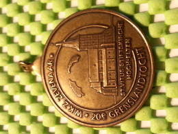 Medaille - Medaille - Medaille - Grenslandtocht 20e - WKZ Zevenaar 1992 - Pays-Bas