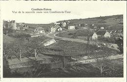 Comblain - Fairon -- Vue De La Nouvelle Route Vers Comblain - La - Tour.   (2 Scans) - Comblain-au-Pont