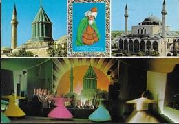 TURCHIA - KONYAL - LA MOSCHEA - VIAGGIATA 1992 FRANCOBOLLO ASPORTATO - Turchia