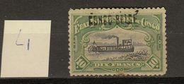 Congo Belge Ocb Nr : 39 L1 * MH (zie  Scan)  Tache De Rouille - 1894-1923 Mols: Mint/hinged