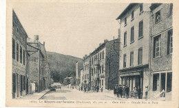 43 //LA SEAUVE Sur SEMENE    Grande Rue Et Poste  10829 - France