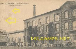 43 --- LA SEAUVE   L'usine COLCOMBET, Sortie Des Ouvriers, 4414  MB / ** - France