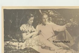 AK Greifswald, Picknick I. Elisenhain - Greifswald