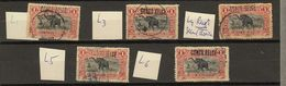 Congo Belge Ocb Nr : 36 L  (zie  Scan) - 1894-1923 Mols: Gebraucht