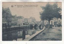 Malines: Quai Au Sel Et Pont Sur La Dyle. Mechelen: Zoutkaai En Brug Op De Dijle - Malines