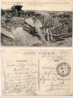 En Champagne - Tranchées Allemandes Démolies Par Notre Artillerie - Cachet Militaire Trésor Et Postes 170 (101881) - Weltkrieg 1914-18