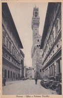 CARTOLINA - POSTCARD - FIRENZE - UFFIZI E PALAZZO VECCHIO - Firenze