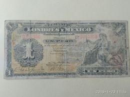 1 Peso 1914 - Messico