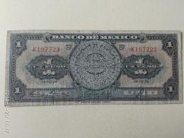 1 Peso 1950 - Messico