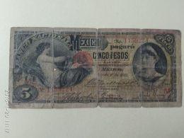 5 Pesos 1905 - Messico