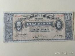 10 Pesos 1914 - Messico
