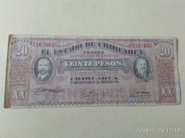 20 Pesos 1914 - Messico