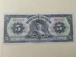 5 Pesos 1961 - Messico