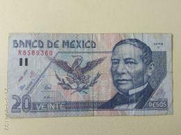 20 Pesos 1996 - Mexico