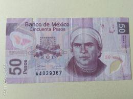 50 Pesos 2008 - Messico