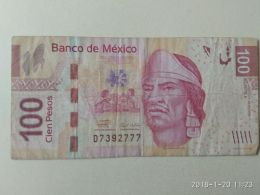 100 Pesos 2008 - Mexico