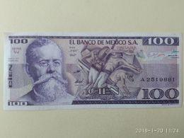100 Pesos 1982 - Messico