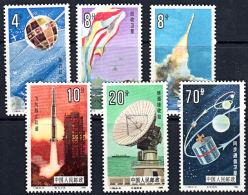 B0677 CHINA 1986, SG 3423-8  Space Exploration,  MNH - 1949 - ... Volksrepublik