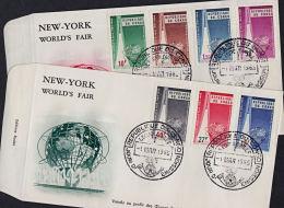 Cb0009 CONGO (Kinshasa) 1965, SG 560-6 New York World Fair, FDC - FDC