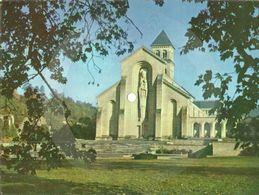 Orval  Abbaye D'Orval Façade De La Basilique Carte  Disque 45 RPM N°355 Fo 6865 Les Moines Chantent Le Salvé Régina - Florenville