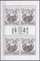 Slowakei Slovakia Slovensko 2000 Postwesen Postrecht Herrscher Königshäuser Maria Theresia Habsburg Posthorn, Mi. 384 ** - Slowakische Republik