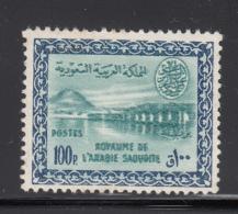 Saudi Arabia 1960-62 MNH Scott #225 100p Wadi Hanifa Dam - Arabie Saoudite