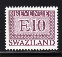 Swaziland 1975-77 MNH E10 Purple Revenue - Swaziland (1968-...)