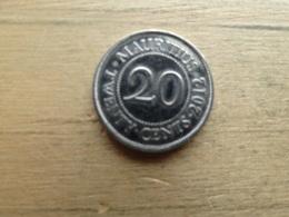 Maurituis  20  Cents  2012  Km 53 - Mauritius