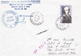 TAAF131 - YT N° 83 - Marion Dufresne OP 80/4 - Le Port ( Réunion ) 17.10.1980 - Französische Süd- Und Antarktisgebiete (TAAF)
