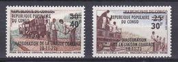 Congo - 1971- N°Yv 309 à 310- Inauguration De La Ligne Coaxiale N* MH - Congo - Brazzaville