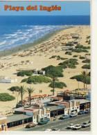 PLAYA DEL INGLES GRAN CANARIA VISTA AEREO PANORAMA - Gran Canaria