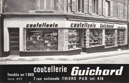 Coutellerie  Guichard   Thiers - Publicité