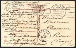 Pays Bas Hollande Vers Congo Boma Via Anvers Begique - 1909 - TL2 - Belgian Congo
