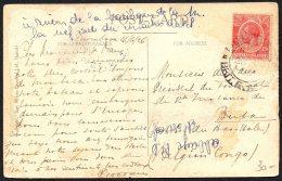 Kenya Uganda Vers Buta Congo Via Irumu Kasenyi 1926 - TL2 - Belgian Congo