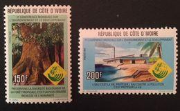 Ivory Coast 1992  Scott $140 - Ivory Coast (1960-...)