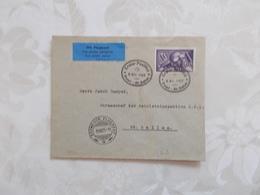 ENVELOPPE.PAR AVION.CACHET ERSTER POSTFLUG BASEL ST GALLEN.1927 - Luftpost