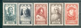 FRANCE ; 1946 ; Y&T N° 765 à 767 Et 769-770 ; Neuf  Ttbe - France
