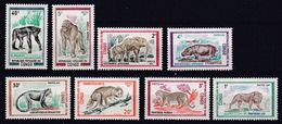 Congo - 1972- N°Yv 318 à N° 325 Animaux Sauvages N* MH - Congo - Brazzaville