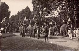 Cambodge, Phnom-Penh, Fete De Tang-tok, Elephants Royaux    (bon Etat) - Cambodia