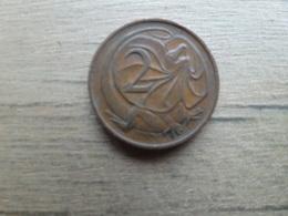 Australie  2  Cents  1974  Km 63 - Monnaie Décimale (1966-...)