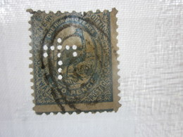 Stamp Timbre AUSTRALIE COLONY NEW SOUTH WALES Perforés Perforé Perforés Perfin Perfins Stamps Perforated Perforations - Perfins