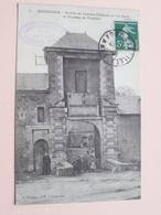 BAZEILLES Entrée De L'ancien Château Où Fut élevé Le Vicomte De Turenne ( 7 - J. Winling ) Anno 1905 ( Voir STAMP ) - Sedan