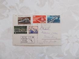 CARTE POSTALE .AERODROME DE PORRENTRUY.MEETING AERIEN.1947. - Poste Aérienne