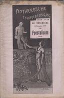 RARE Album Feestalbum ANTWERPSCHE TURNVEREENIGING Anvers Anniversaire - Programme