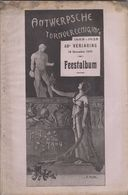 RARE Album Feestalbum ANTWERPSCHE TURNVEREENIGING Anvers Anniversaire - Programmi