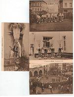 Carneval De Binche 4 Cartes Nrs 1,2,3,4 Edition F.Bourgeois Et Fils ...Binche - Binche