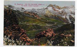 COL DU GALIBIER - N° 20 - LES LACETS - VERSANT LAUTARET - CPA VOYAGEE - France