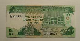1985 - Maurice - Mauritius - TEN RUPEES - A / 88  223874 - Mauritius