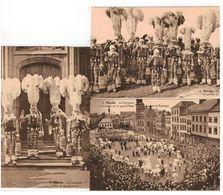 Carneval De Binche 3 Cartes Nrs 8,9,10 Edition F.Bourgeois Et Fils ...Binche - Binche